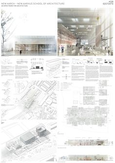 Three winners selected for Aarhus' NEW AARCH school, will compete against SANAA…