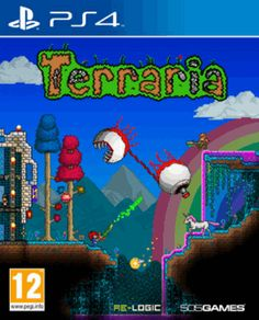 Terraria PlayStation 4 Cover Art