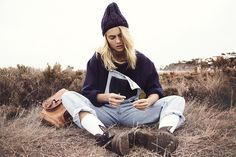 styling, photography, fire, smoke, outback, winter, knit, lack of colours, hat