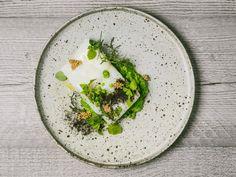Cod, peas & mustard. Chef Q&A with Paulo Airaudo & Francesco Gasbarro, La Bottega. Read it at Ateriet.com