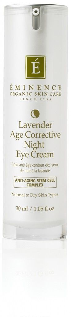 Eminence Organics' new Lavender Age Corrective Night line | Plant Stem Cells Skincare Products @Éminence Organic Skin Care