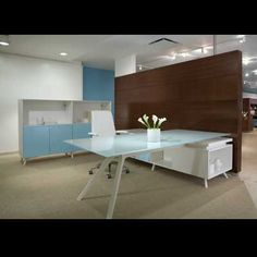 Modern Contemporary Office Desks and Furniture - Executive Office, Glass, Italian Desks Office Workstations, Office Desks, Corporate Interiors, Office Interiors, Contemporary Office Desk, Modern Contemporary, Office Furniture, Furniture Design, Furniture Ideas