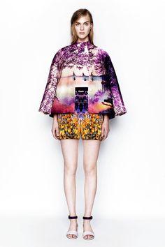 A Journey Into Mary Katrantzou's Fashion Landscapes | http://www.yatzer.com/mary-katrantzou-resort-2014-moncler-m