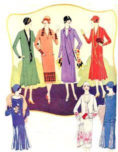 1920's Womens Fashion