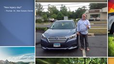 Dear Thomas Mcalister   A heartfelt thank you for the purchase of your new Subaru from all of us at Premier Subaru.   We're proud to have you as part of the Subaru Family.