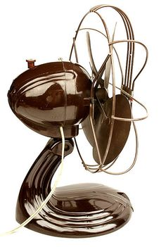 Streamline art deco design fan...