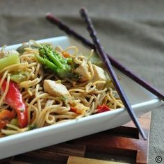 Homemade Chicken Lo Mein #best recipe to try