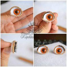 Hay muchas maneras o métodos para hacer ojos para amigurumis, este es uno de ellos, es bastante fácil y quedan sencillamente preciosos.