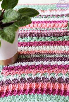 Betty's 20 Stitch Table Runner | Summer Kitchen Series