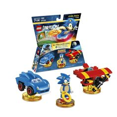 Figurine 'Lego Dimensions' - Sonic the Hedgedog - Pack Aventure : Level Pack Adventure Time, Adventure World, The Sonic, Sonic The Hedgehog, Sonic Sonic, Play Sonic, Tmnt, Legos, Lego Dimensions