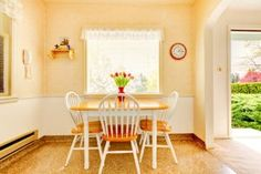 Kitchen Window Treatments | Stretcher.com - She's looking for shade and privacy in her kitchen window treatments