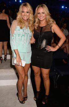 Carrie Underwood & Miranda Lambert