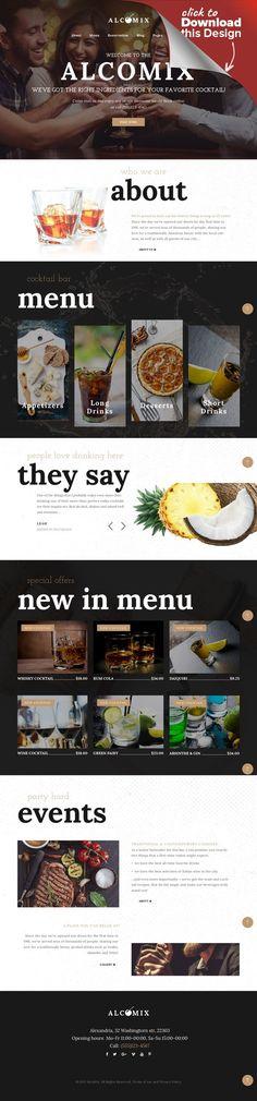 Tema de WordPress para Sitio de Tienda de Comestibles | Pinterest ...