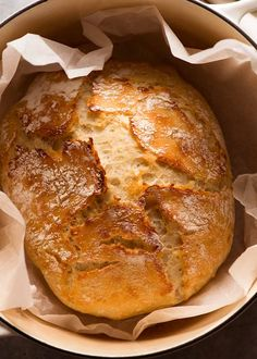 Artisan style no knead bread in a dutch oven, fresh out of the oven recipes artisan dutch ovens World's Easiest Yeast Bread recipe - Artisan, NO KNEAD Artisan Bread Recipes, Yeast Bread Recipes, Dutch Oven Recipes, Cooking Recipes, Fresh Yeast Bread Recipe, Cottage Bread Recipe, Crusty Bread Recipe Dutch Oven, Simple Bread Recipe, Gourmet