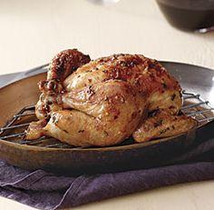 Maple-Glazed Roast Chicken