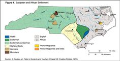 Origins of settlers in colonial NC. http://ncpedia.org/history/colonial/early-settlement