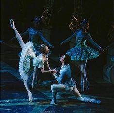 Svetlana Zakharova in Sleeping Beauty.