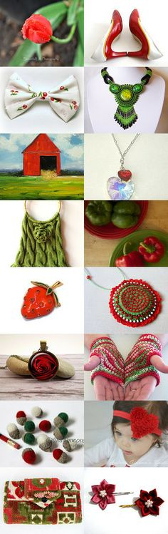 Beautiful red by Dobromira Ivanova on Etsy--Pinned with TreasuryPin.com https://www.etsy.com/shop/BlastFromThePastBags