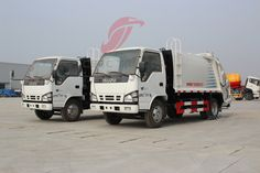 5Tons New Isuzu Garbage truck waste collection truck for Sale