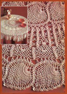 Mantel de ganchillo - Xiuse Hawthorn - rima Té