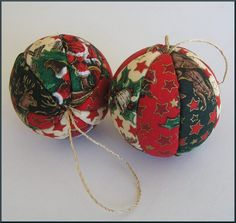 christmas ornaments to make | How to Make Holiday Ornaments: Button Wreaths, Vintage Polystyrene ...
