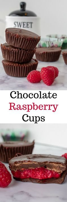 Want something fresh and fruity for dessert but still need that taste of chocolate? Check out our chocolate raspberry cups!