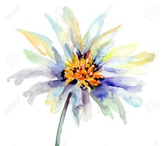abstract watercolour flowers - Google Search
