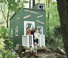 Outdoor Playhouses | Handmade Charlotte
