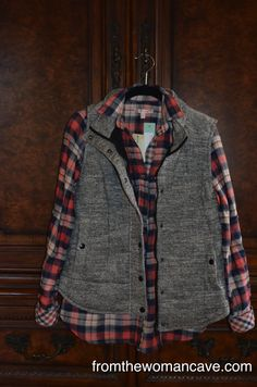 Tiffany- I love the vest, flannel shirt and the coat in the fix!