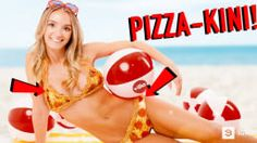 """This 100% Edible """"Pizza-Kini"""" Costs $10,000 But You Can't Swim Wearing It!"""