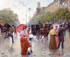 Juan Soler Spanish Impressionist New Realism painter Tutt'Art@ () Spanish Painters, Spanish Artists, His Travel, French Decor, France, Prado, Mother And Child, Optical Illusions, Beautiful Artwork
