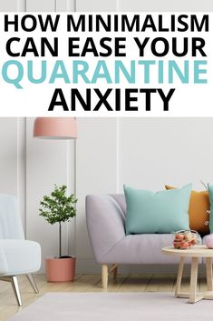 Here's a little help -- ways that you can start practically applying minimalism to your life during quarantine to help cope with anxieties! Minimalist Living Tips, Becoming Minimalist, Minimalist Lifestyle, Minimalist Decor, Minimalist Parenting, Anxiety Coping Skills, Change Your Mindset, Declutter Your Home, Sustainable Living