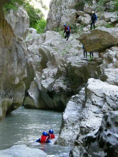 "Gorges du Verdon (Verdon Gorge) in Provence: aqua trek in the ""French Grand Canyon!"""