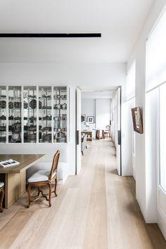Saint Germain Apartment by Frederic Berthier   est living