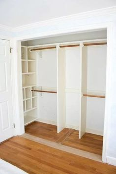 Small Closet Bedroom Clothing Storage Shelves 25 Ideas For Closet Bedroom Clothing Storage Shelves 25 Ideas For 2019 bedroom storage Small Bedroom Organization Ideas That Are Smart and Stylish - Sharp AspirantBedroom Organization Bedroom Closet Storage, Bedroom Closet Design, Small Closet Organization, Master Bedroom Closet, Bathroom Closet, Closet Designs, Bedroom Organization, Master Bedrooms, Diy Bedroom