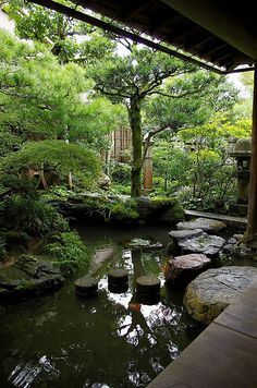 Nagamachi The site of Samurai House 長町武家屋敷跡 Garden Garden backyard Garden design Garden ideas Garden plants Landscape Architecture, Landscape Design, Koi Pond Design, Japan Garden, Japanese Garden Design, Japanese Gardens, Pond Waterfall, Ponds Backyard, Koi Ponds