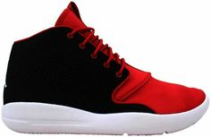 online store 436e0 d6e7b eBay  Sponsored Nike Air Jordan Eclipse Chukka BG Black White-Gym Red  881454-001 GS SZ 4Y