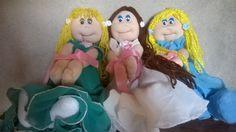 Muñecas de tela bellas!!💖💝 Bellisima, Disney Characters, Fictional Characters, Disney Princess, Fantasy Characters, Disney Princesses, Disney Princes