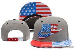 Nike USA Flag Snapback Grey|only US$8.90,please follow me to pick up couopons.
