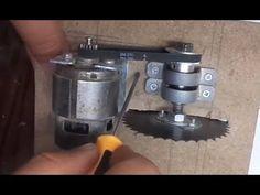 DIY Cordless Circular Saw - table saw turns circular saw - Evyapımı Dair...