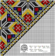 Cross Stitch Charts, Cross Stitch Embroidery, Cross Stitch Patterns, Beading Patterns, Knitting Patterns, Tapestry Crochet, Beautiful Patterns, Purses And Bags, Needlework