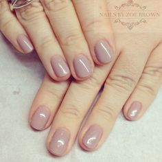 "cnd shellac flora and fauna collection ""field fox"" - the perfect nude gel color"