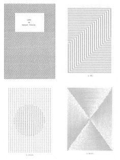 Kasper Pincis, LXVI book (2013), typewriter and tipp-ex on paper.