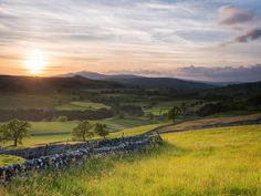 Sunrise over Ribblesdale | North Yorkshire