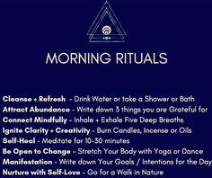 This should be every morning ritual ✔️🌞🌞🌞 Beautiful day. Zen Mode, Reiki, Affirmations, Morning Ritual, Self Healing, Spiritual Awakening, Spiritual Manifestation, Awakening Quotes, Self Improvement