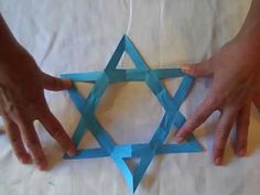 AMAZING!!! The secret is out on how to make a beautiful and perfect Star of David!