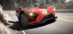 The All-New 2015 Polaris Slingshot Motorcycle