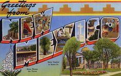 Greetings from New Mexico - Large Letter Postcard by Shook Photos, via Flickr