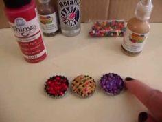 HTM Miniature Fruit Pies for Mini Dolls
