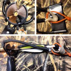 Slingbow (slingshot modified to shoot arrows like a bow)